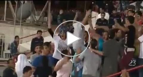 الجالية السورية في الكويت تستقبل المنتخب السوري بالتظاهرات