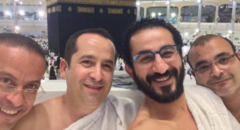 أول ظهور لأحمد حلمي في العمرة