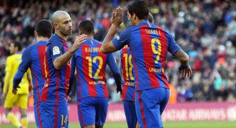 أبرز أحداث امس الرياضية:برشلونة يسحق لاس بالماس .. ميسي يعادل راؤول .. تشيلسي يؤمن صدارته