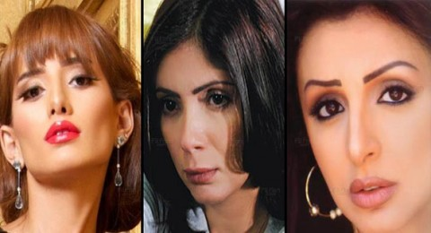 منى زكي وزينة وأنغام وأخريات يعلنّ الحداد على شهداء مصر