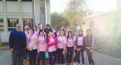 الاخوة الجلبوع: منتخب كرة الطائرة للفتيات يبدع رغم حداثته