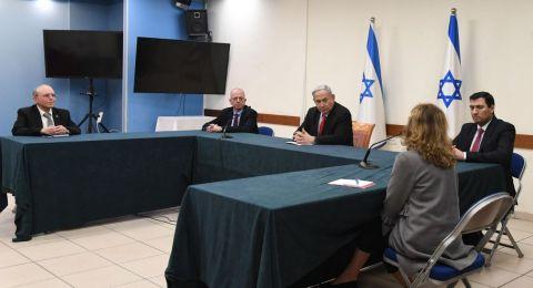 أزمة الكورونا .. نتنياهو يجتمع مع أطباء عرب