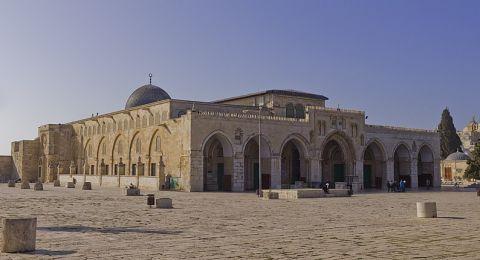 اغلاق المسجد الأقصى وقبة الصخرة والصلاة فقط في الساحات