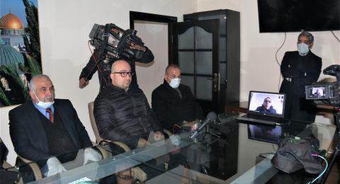 محافظ القدس يعلن عن الاستعداد للمرحلة الاصعب في مواجهة الكورونا