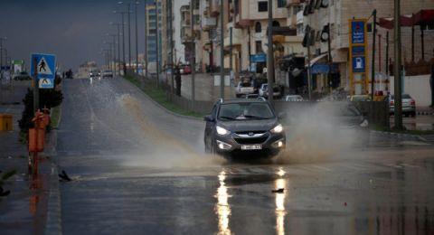 حالة الطقس: منخفض جوي  وانخفاض بدرجات الحرارة حتى نهاية الأسبوع