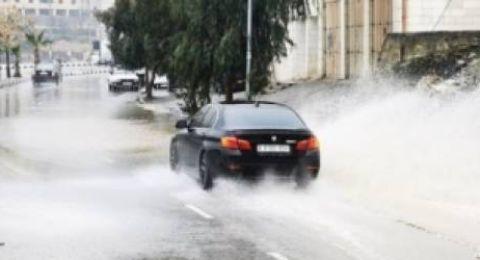 حالة الطقس: غائما جزئيا ويطرأ انخفاض ملموس على درجات الحرارة