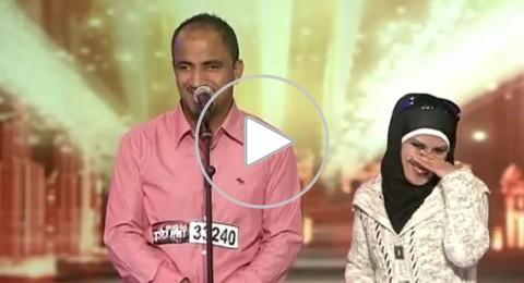 بائع متجول يفجر ضحكات لجنة Arabs Got Talent