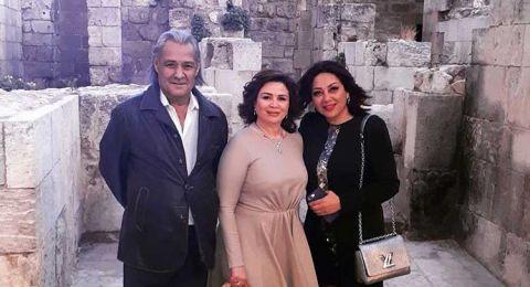 الهام شاهين تشارك في حفل عيد الجلاء السوري في حلب
