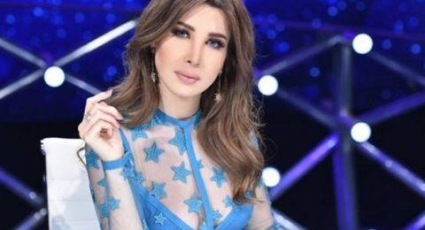صور مجوهرات النجمات العربيات مع فساتين سهرة