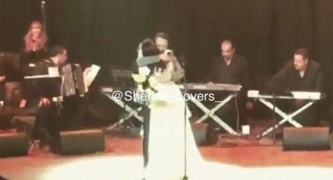 حسام حبيب يفاجىء شيرين على المسرح في المغرب