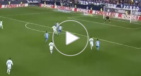ريال مدريد يتجاوز ملقا بثنائية في الدوري الإسباني