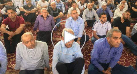 الطمع خطبة الجمعة بجامع عمر المختار يافة الناصرة