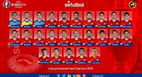 مفاجآت كبيرة بتشكيلة إسبانيا لـ
