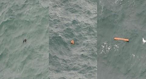 العثور على أشلاء جثث وأمتعة ركاب الطائرة المصرية!