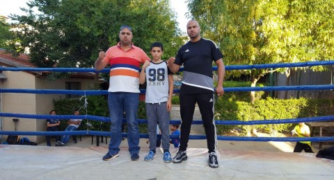 فريق نجوم الناصرة للملاكمة يشارك في مباريات في اوكرانيا