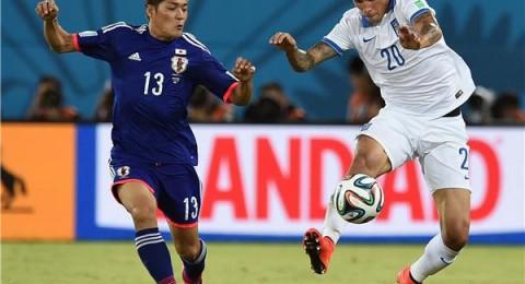 اليونان واليابان يتعادلان ويهديان كولومبيا التأهل رسميا