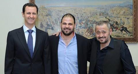 جورج وسوف يلتقي بشار الأسد