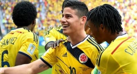كولومبيا تتغلب على ساحل العاج بشق الأنفس
