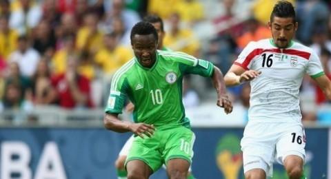 التعادل الاول في المونديال يسيطر على لقاء نيجيريا وايران