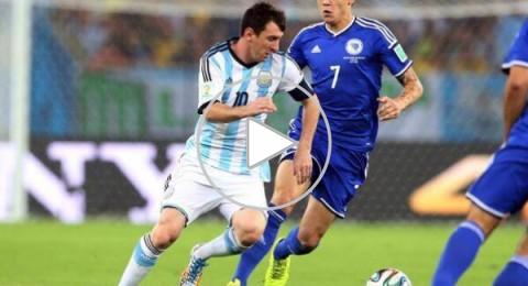 مونديال 2014.. ميسي يسجل والأرجنتين تهزم البوسنة العنيدة 2-1