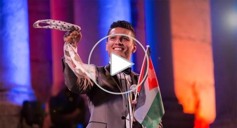 محبوب العرب محمد عساف يفتتح مهرجان جرش 2014