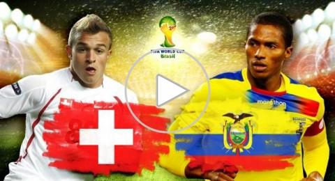 منتخب سويسرا يحقق فوزا ثمينا على الإكوادور بهدفين لهدف