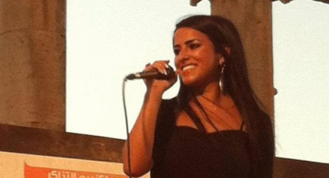 الفلسطينية لينا حرحش ومشاركتها في مهرجان جرش