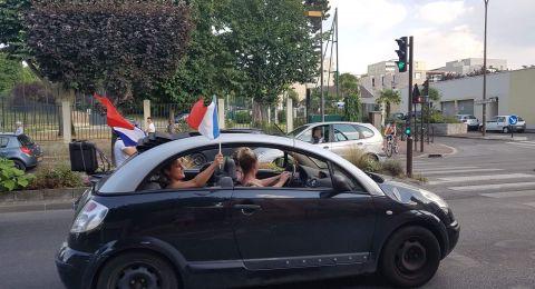 صور: انطلاق الاحتفالات بفرنسا احتفالاً بتتويج المنتخب الوطني بطل العالم