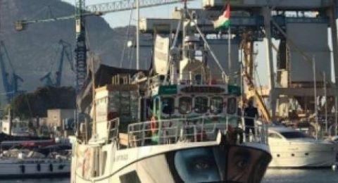 سفن كسر الحصار تنطلق اليوم من ايطاليا الى غزة