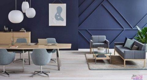 تصاميم جبسية بألوان جريئة لجدران منزلك تُضيف لمسة عصرية على الديكور الداخلي