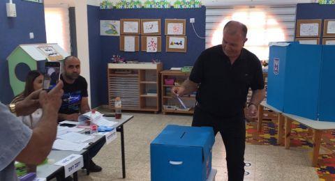 رئيس زيمر تميم ياسين يدلي بصوته.. نسبة التصويت 13%