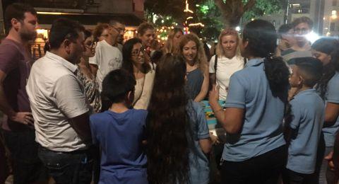 مشاركة طلاب الروبتيكا بمدرسة الطور دبورية بمهرجان الحداثة
