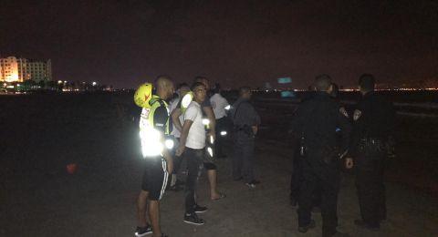 عكا: البحث عن شاب عربي اختفى بعد أن دخل البحر