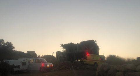 ام الفحم: مصرع  وليد صالح كيوان محاميد بعد سقوطه عن علو