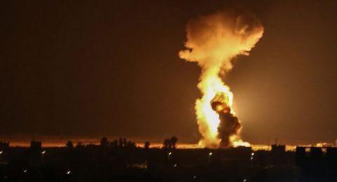 الجيش الإسرائيلي يكشف ما استهدفته صواريخه في سوريا الليلة الماضية