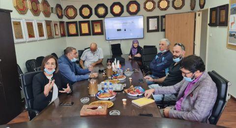 النائبة د.هبة يزبك بزيارات عمل لمجلس البعنه، مجد الكروم ودير الاسد وأقسام الرفاة
