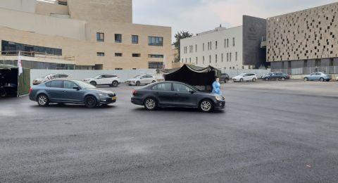 بلدية الناصرة: تعالوا لإجراء فحص الكورونا اليوم وغدًا السبت في ساحة البلدية