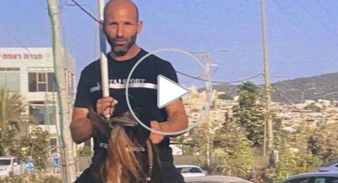 هذا هو المشتبه بقتل زوجته من عرابة .. الشرطة تناشد للمساعدة في القبض عليه! (فيديو)