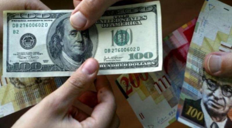 أسعار صرف العملات مقابل الشيكل اليوم السبت
