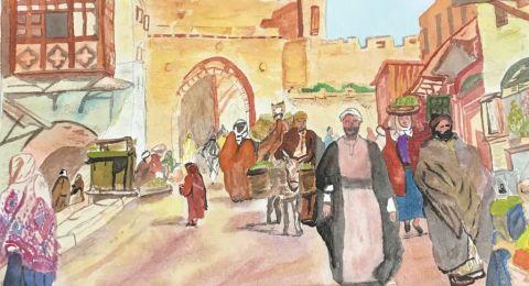 القدس بعيون الفنانة التشكيلية المغتربة ميس الجريري