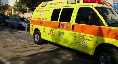 النقب: اصابة طفلة (10 سنوات) بحروق جراء سقوطها على مدفأة