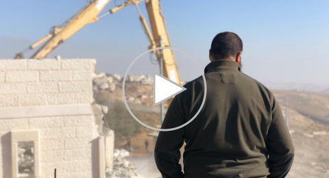 القدس: هدم منزلً في العيسوية بحجة البناء دون ترخيص