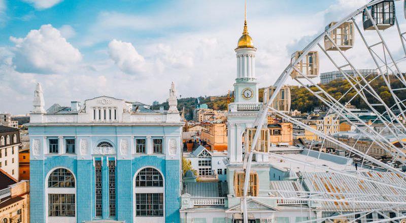 محطات سياحية في كييف