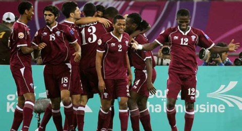 منتخب قطر إلي ربع نهائي كأس آسيا بفوز كبير علي الكويت :