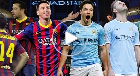 موعدنا الليلة :معركة البقاء بين مانشستر سيتي وبرشلونة في دوري أبطال أوروبا