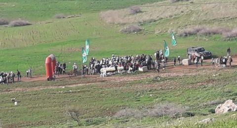 آلاف المستوطنين يقتحمون منطقتين بالأغوار الشمالية