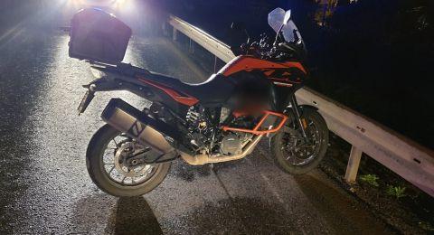 مصرع راكب دراجة نارية بحادث طرق مروع في منطقة الجلبوع