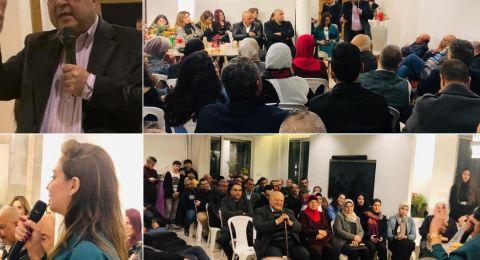 دعمًا للمشتركة: اجتماعات شعبية حاشدة في المدن والبلدات العربية