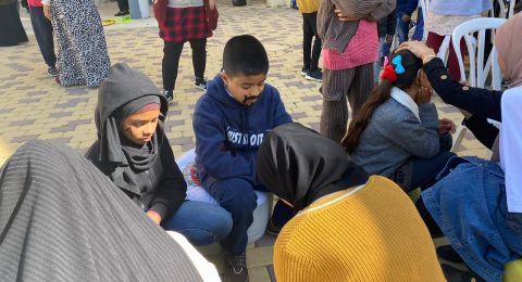 فعالية مميزة لطلاب ذوي الاحتياجات الخاصة من مدرسة المستقبل شقيب السلام
