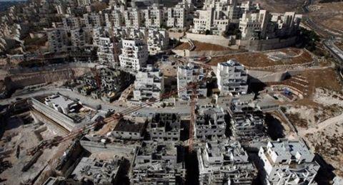 اسرائيل تعتزم بناء 9 آلاف وحدة استيطانية شمال القدس